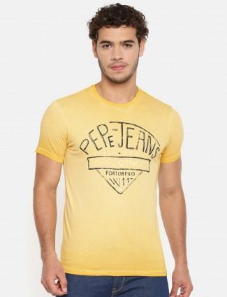 Pepe jeans lemon yellow t-shirt