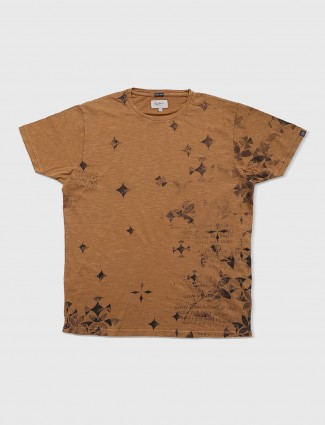 Pepe jeans mid rise brown t-shirt