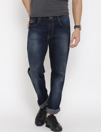 Pepe Jeans navy regular fit denim jeans