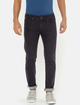 Pepe Jeans navy solid jeans