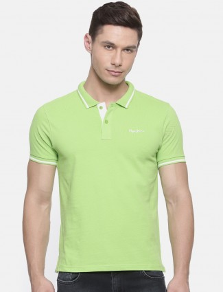 Pepe Jeans parrot green color t-shirt