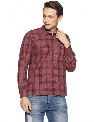 Pepe Jeans pink casual shirt