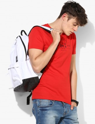 Pepe Jeans red casual t-shirt