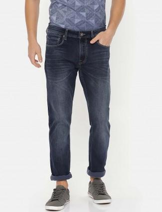 Pepe Jeans regular washed blue jeans