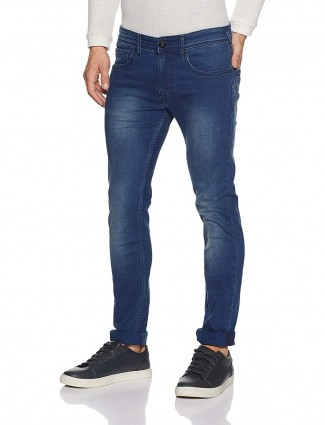 Pepe Jeans royal blue simple jeans