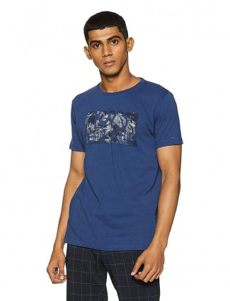 Pepe Jeans simple blue hue t-shirt