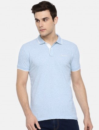 Pepe Jeans sky blue cotton t-shirt