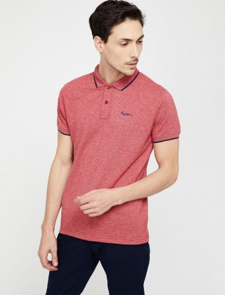 Pepe Jeans slim fit pink t-shirt