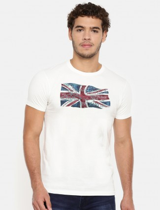 Pepe Jeans slim fit white t-shirt