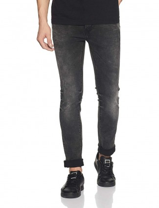 Pepe Jeans solid black jeans