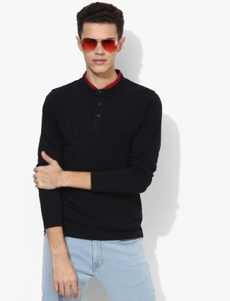 Pepe Jeans solid black t-shirt