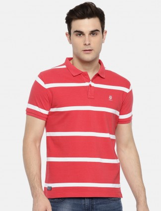 Pepe Jeans striped pattern red t-shirt