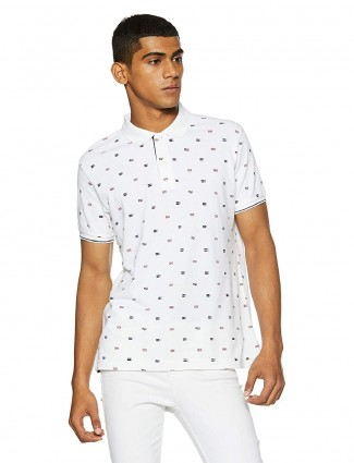 Pepe Jeans white printed t-shirt