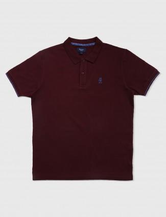 Pepe jeans wine hue t-shirt