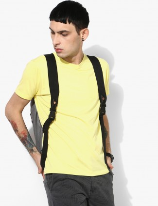 Pepe Jeans yellow slim fit casual t-shirt