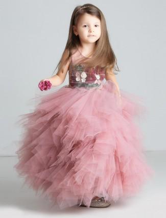 b049affe44bf Girls Gowns: Buy Girls designer gown dresses & frocks Online, Girls ...