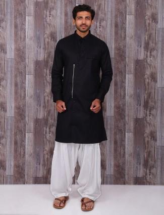 Plain silk festive wear attractive kurta suit