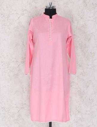 Pretty pink punjabi style palazzo suit
