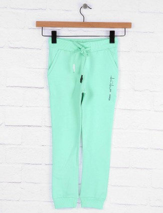 Pro Energy aqua hue cotton jeggings for girls