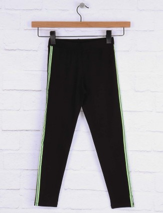 Pro Energy black color casual wear jeggings for girls