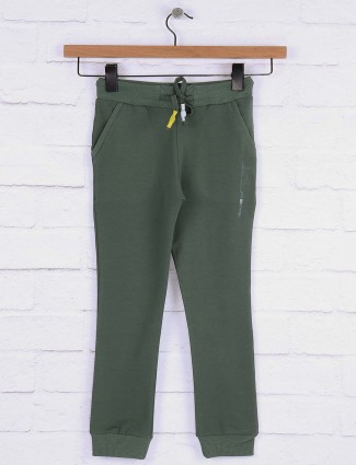 Pro Energy green color casual jeggings in green color
