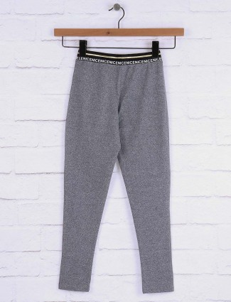 Pro Energy Grey color cotton casual jeggings