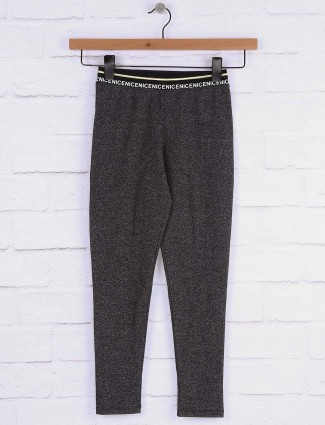 Pro Energy grey hue casual wear jeggings in cotton