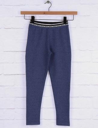 Pro Energy grey hue cotton jeggigs for girls