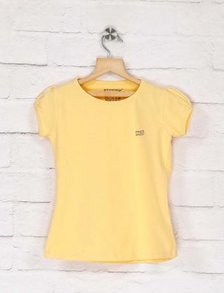 Pro Energy presented lemon yellow solid top