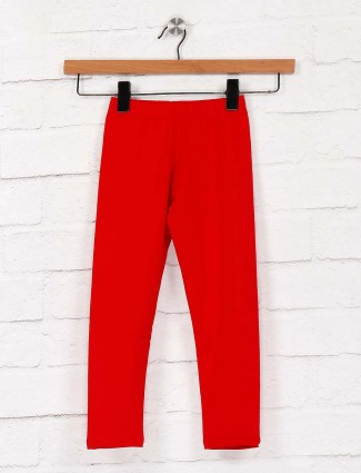 Pro Energy red hue casual wear pretty jeggings