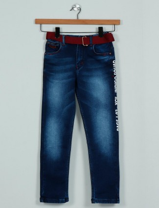Rags blue washed denim jeans