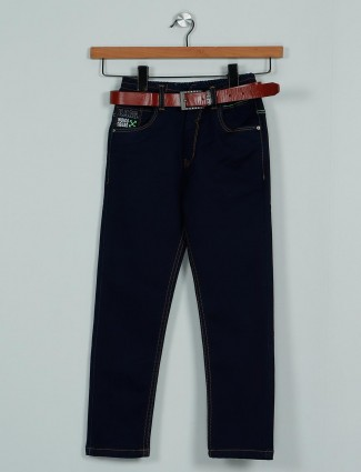 Rags classy solid navy denim boys jeans