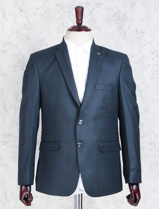 Rama green solid coat suit