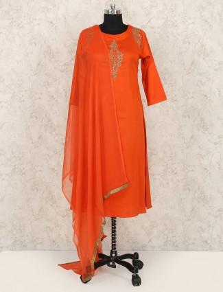 Red color wedding punjabi salwar suit