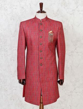 Red wedding indo western