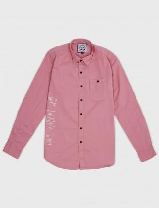 Relay rose pink hue shirt