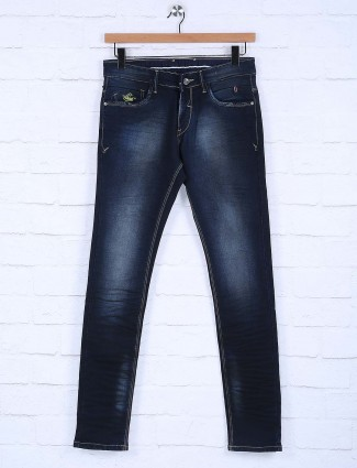 Rex Straut dark navy solid jeans