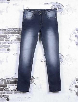 Rex Straut navy slim fit jeans