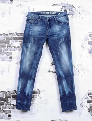 Rex Straut royal blue mens jeans