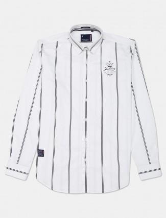 River Blue white stripe new trend shirt