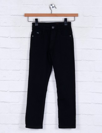 Ruff blackdenim jeans for boys