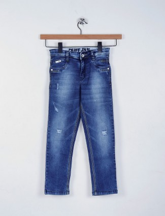 Ruff blue hue casual slim fit jeans
