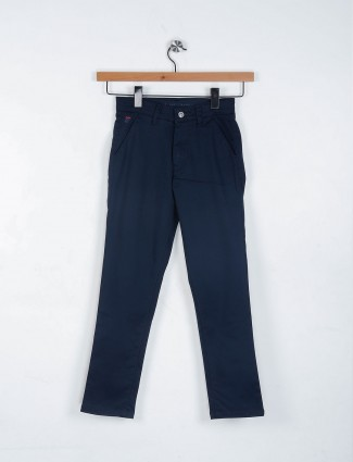 Ruff casual navy color trouser