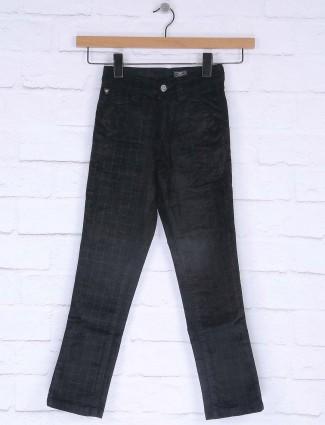 Ruff Corduroy black checks jeans