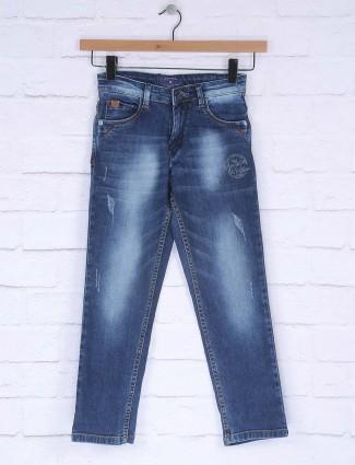 Ruff dark blue slim fit jeans
