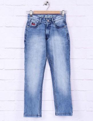 Ruff light blue simple jeans