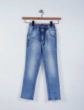 Ruff present blue color casual jeans