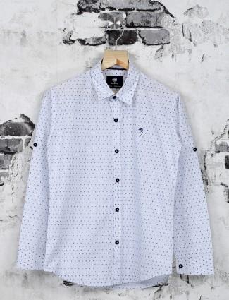 Ruff simple white shirt