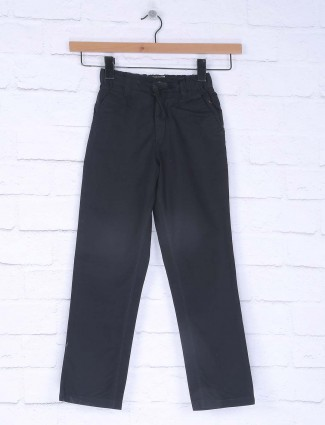Ruff solid black hued jeans