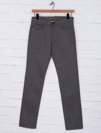 Six Element dark grey regular trouser